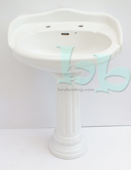 Durham By Shires Basin Sink Amp Pedestal Sanitana Colonial