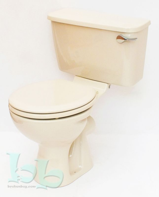 Soft Cream Whisper Cream Toilet Pan And Cistern Close