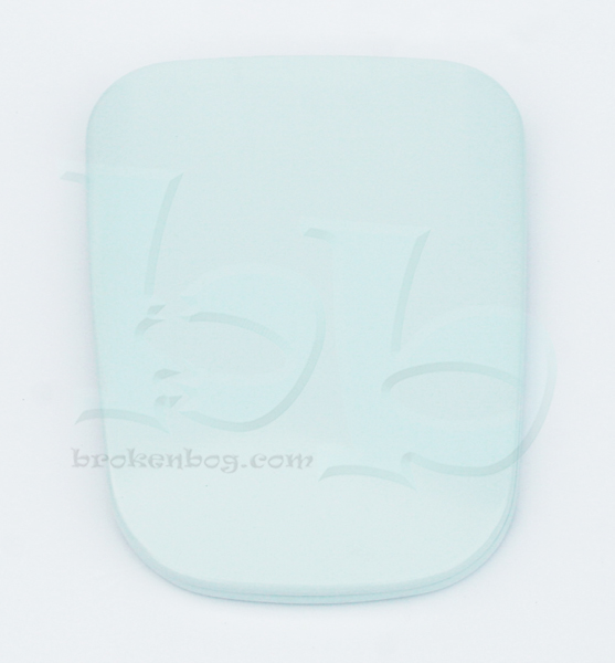 Twyfords Debut toilet seat in Fresh Water colour (discontinued model)